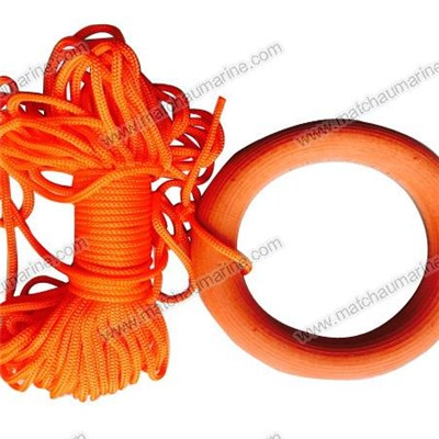 Buoyant Rescue Quoit for Life Raft and Life Boat