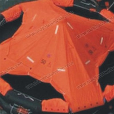 CCS/EC Approved Open Reversible Inflatable Life Raft