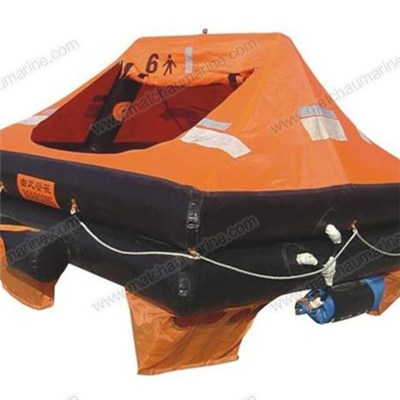 Throw Over Board Inflatable Life Raft For Yacht