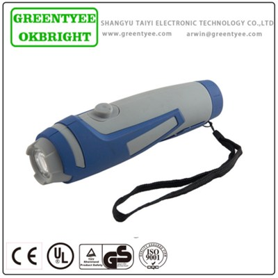CE Durable Rechargeable Handheld Torch Flashlight