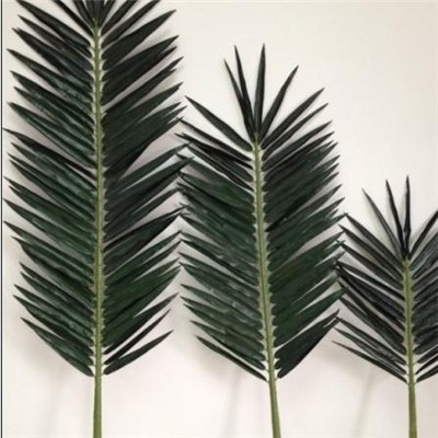 4m no metal PE Artificial Palm Fronds for Palm monopole