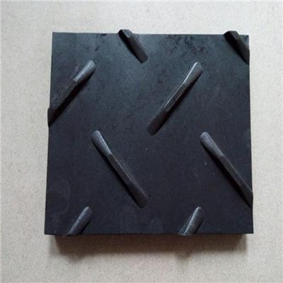 Black Temporary Road Mat