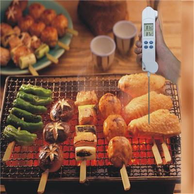 Best Ultra Fast Instant Read Digital Electronic Barbecue Meat Thermometer with Collapsible Internal Probe