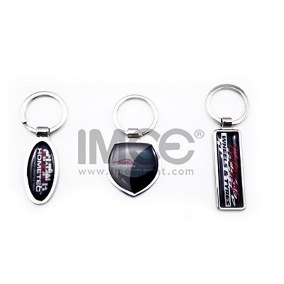 Promotional/Custom Rubber/PVC/Leather/Metal Keyring or Keyring Chain