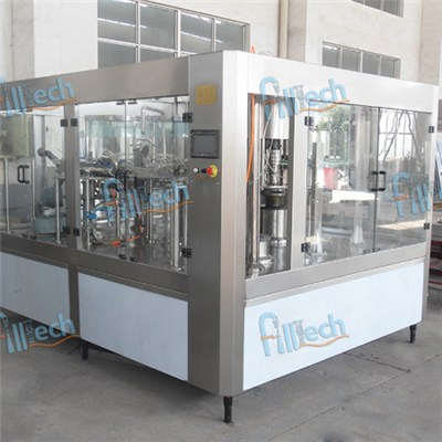 500ml PET bottled carbonated drink filling machine