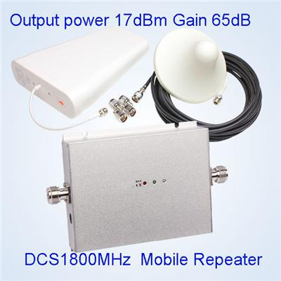 17dBm 1800MHz Home Use Mini Signal Booster AGC ALC