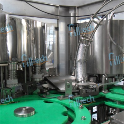 330ml canned juice filling machine