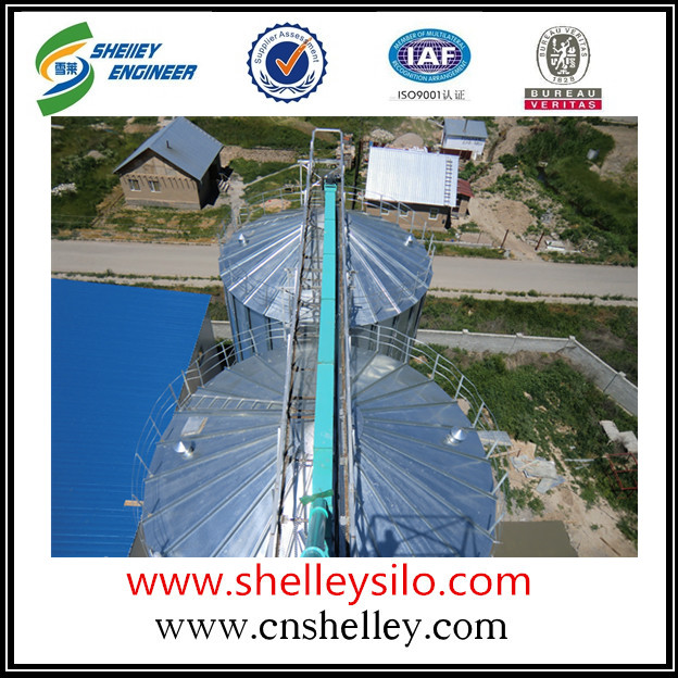 40 - 50t/h galvanized steel drag chain conveyor for grain