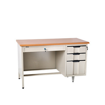 high end hot sell simple OEM&ODM school furniture office table with 3 drawers