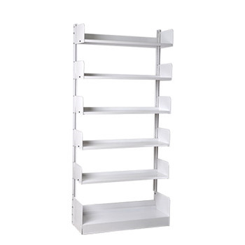 Black Steel 5 Tiers Home Book Shelf,Storage rack for home or school using