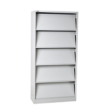 SPCC furniture KD structure economy steel bookcase