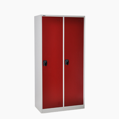 small packing cheap kd metal double door clothes cabinet