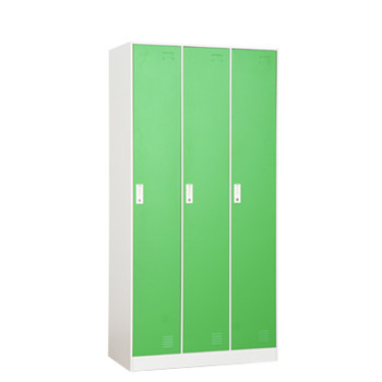High quality modern design 3 door metal clothes cabinet