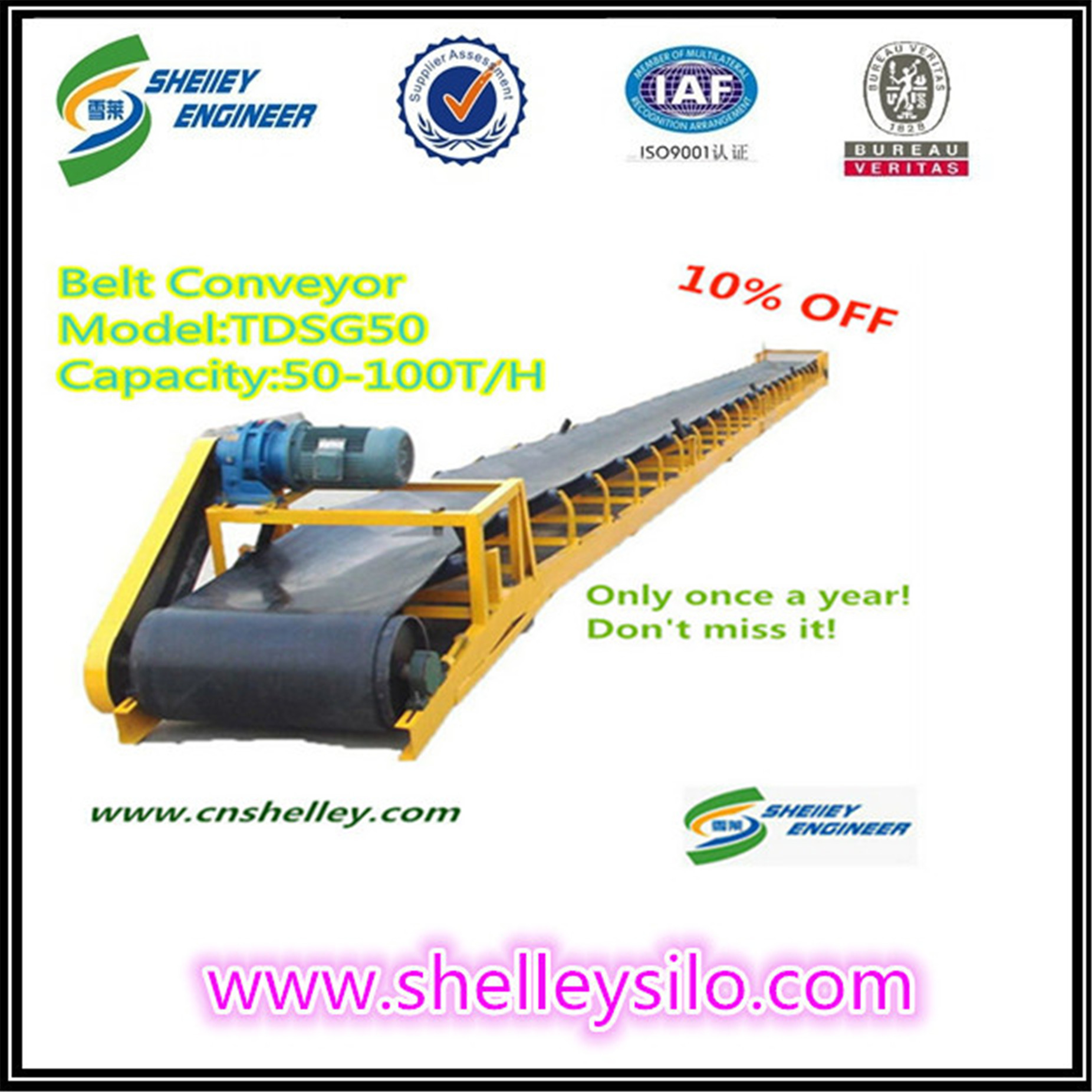 long grain belt conveyors sale