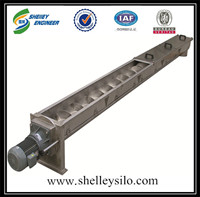 Flexible spiral screw conveyor for sales