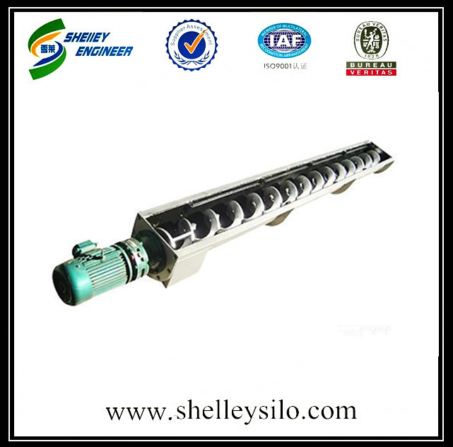 Mobile steel grain screw conveyor price