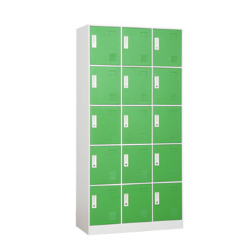 Intelligent Logistic Parcel Delivery Locker With 15 Doors