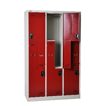 6 L Door Steel Lockers on Industries Lowest Price for Sports and Athletic Facilities Lockers