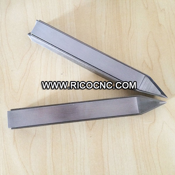 CNC Wood Turning Lathe Triple HSS Cutters Knife Blades