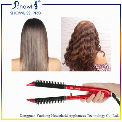 Best Hair Straightener Ceramic Coating With Curl Function