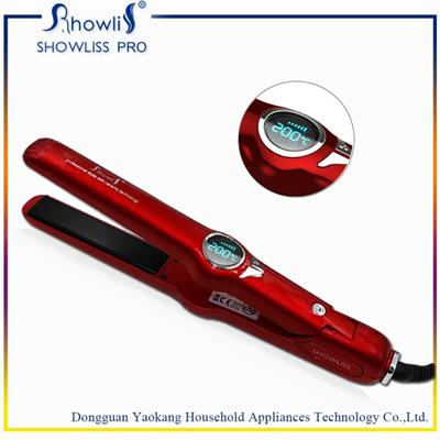 Top Hair Straighteners MCH Heater With Curl Hair Function