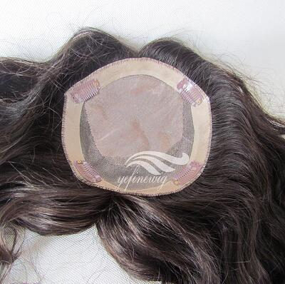 Top Quliaty Cheap Real human hair Topper hairpieces for women