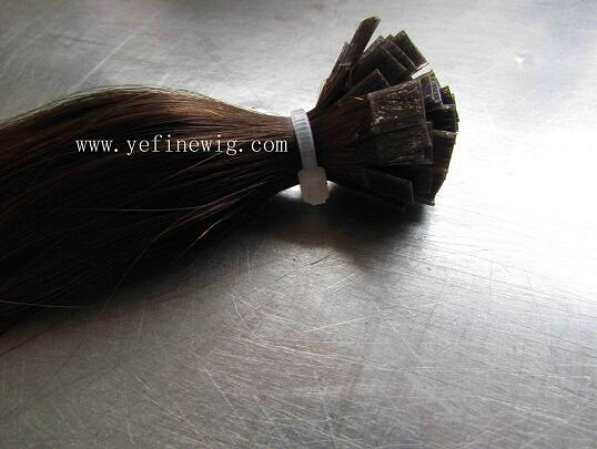 Flat Tip U tip  I  tip pre-bonded Human Hair Extensions Factory/Companies