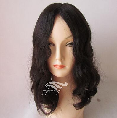 Human Hair  Bob Wig Prosthesis /system for Alopecia/chemo suffers