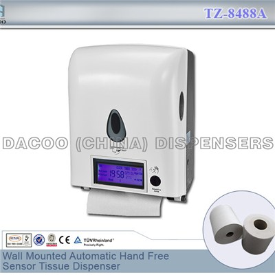 TZ-8488A Wall Mounted Automatic Hand Free Sensor Tissue Dispenser