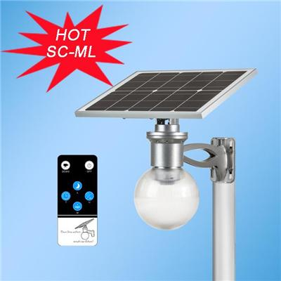 Adjustable 40W Solar Panel LED Yard Lights with motion sensor automatically light on and off