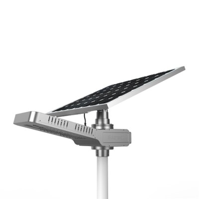 Good quality ISO9001 CE RoHS IP65 approved 50W Solar Panel Street Light with LiFePO4 battery