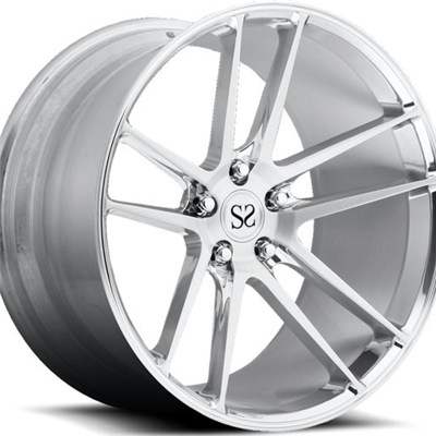 Double 5 Spoke Polish Forged Wheel Rims