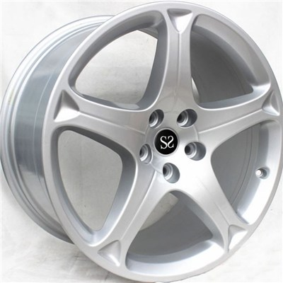 Hyper Silver Forged Magnesium Wheel