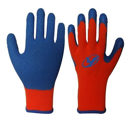 Cut Resistance Latex Coated Gloves/high Strong Polyster Gloves