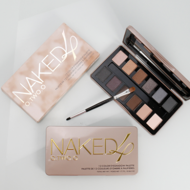 Naked Eyeshadow Palette 12 color long-wearing Eyeshadow Kit