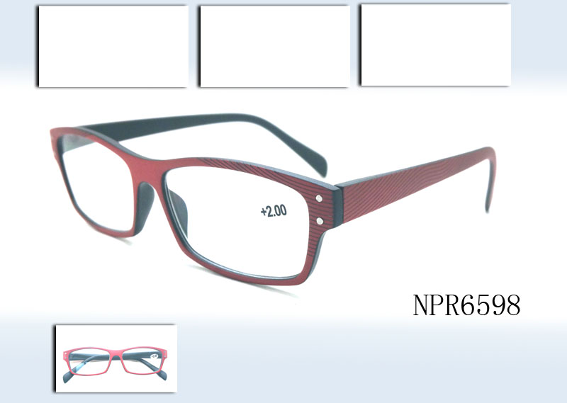 Reading glasses with special design pattern temples are durable, comfortable ;