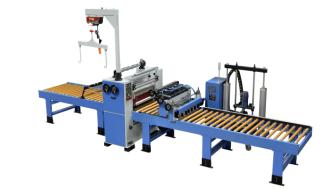 PVC/MDF door panel sticking/lamination machine using PUR hotmelt glue