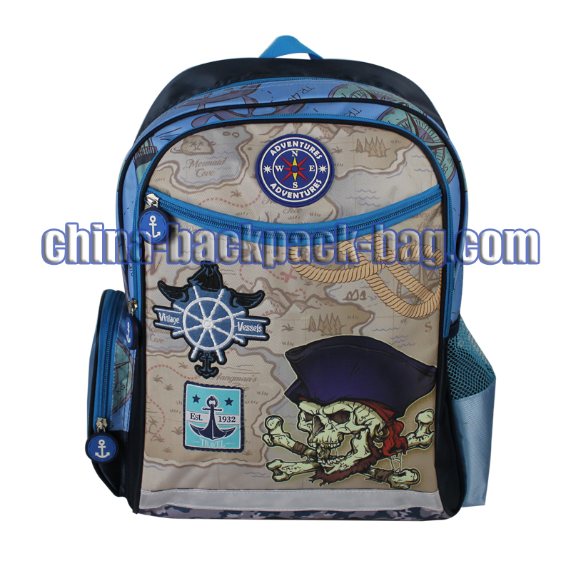 Pirate Kids Backpack Bags