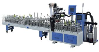 Multifunction MDF/aluminum /UPVC/plastic steel/Door frame profile wrapping machine profile wrapping/lamination machine
