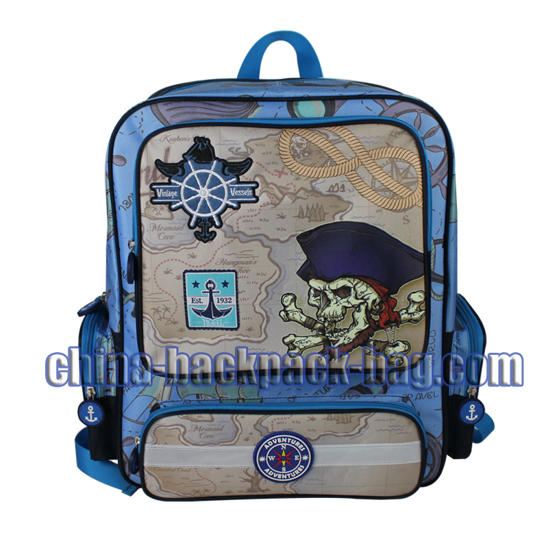 Square Kids School Bags