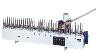 EVA Hot glue hotmelt profile wrapping machine