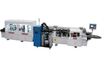 Full function PUR hotmelt glue automatic straight and curve PVC Edge banding machine