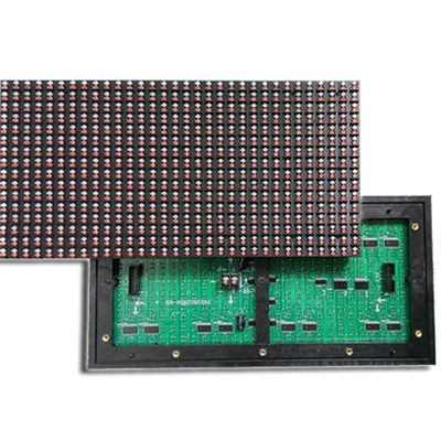 P7.62 double color LED display module