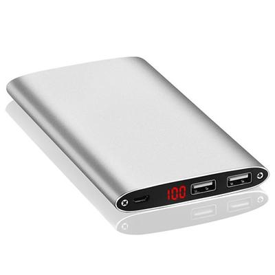 10000mah Metal Power Bank With Digital Display