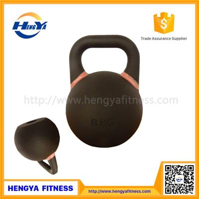 New Style Precision Colored Competition Steel Kettlebell For Fitness Training