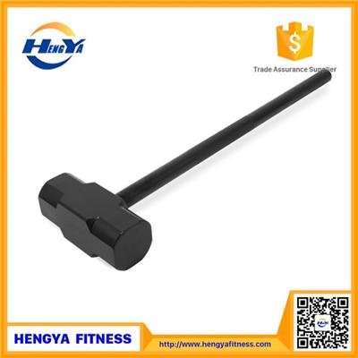 Certificate Of Origin Pro-grade Factory Painted Rizhao T Shape Head Wholesale Black Crossfit Impulse Steel Handle Hammer Strength Gym Equipment