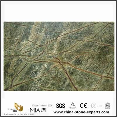 Indian Bidasar Green Marble Slab Stone For Kitchen Countertop,Wall,Floor Design
