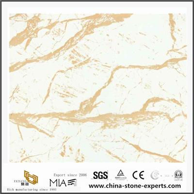 Colorado Golden Vein Marble For Table Tile And Work Countertop From Marble Quarry