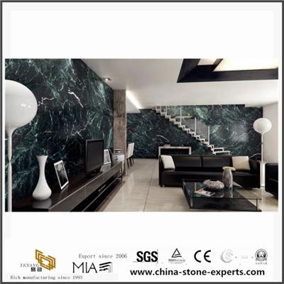 Verde Antique Marble For Bathroom Background & Countertop From Marble Quarry