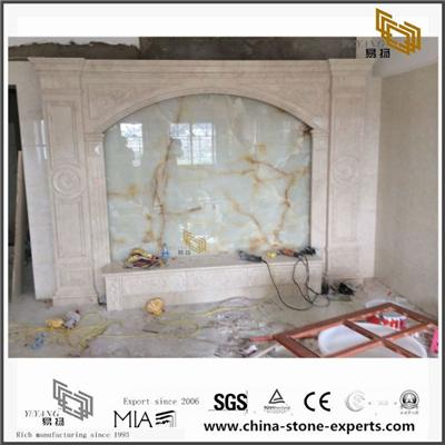 Chinese Nature Multicolor Marble Backgrounds For Hall,Bathroom Wall Design